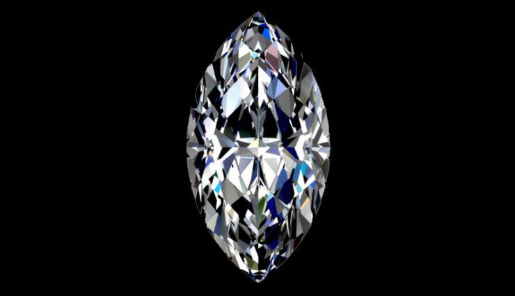 Как получается алмаз в природе