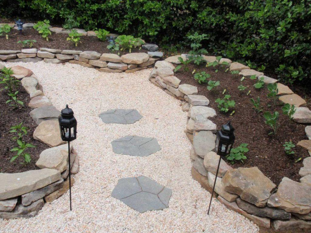 Использование гальки в ландшафтном дизайне: виды, фото камня